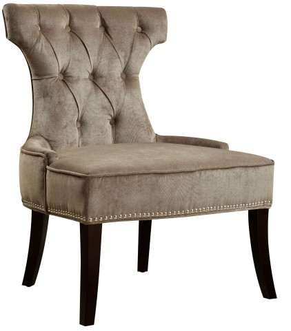 Elizabeth Platinum Upholstered Dining Chair