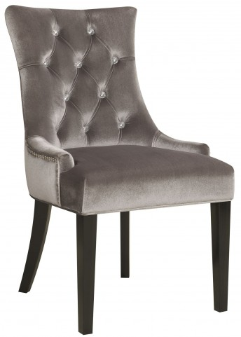 Chrome Velvet Dining Chair