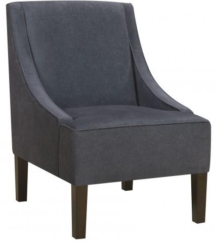 Darkwash Denim Accent Chair
