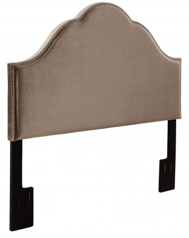 Glam Velvet Queen Upholstered Headboard