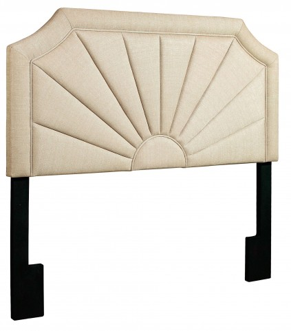 Tux Putty Queen Upholstered Headboard
