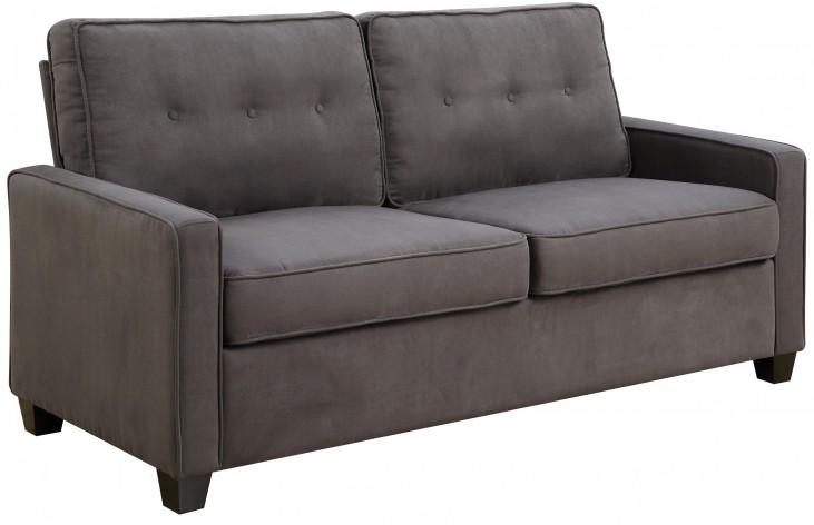 Tufted Back Vernon Slate Sofa