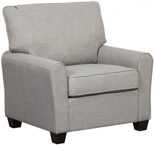 Track Dennison Grey Arm Chair