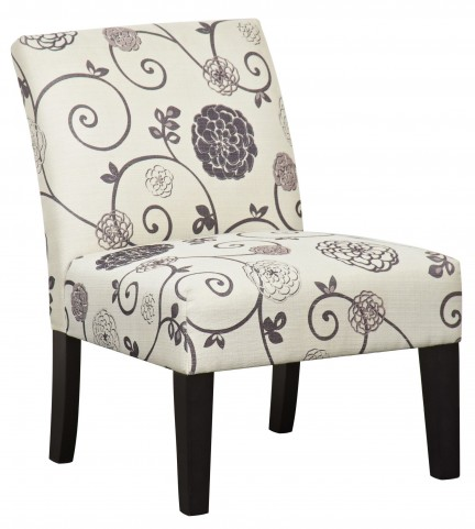 Swirl Floral Dining Chair