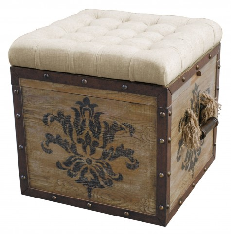 Brownely Storage Ottoman