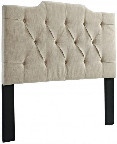 King and Cal. King Tufted Linen Panel Headboard