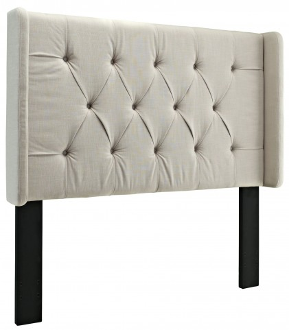King/Cal. King Tufted Panel Wing Headboard