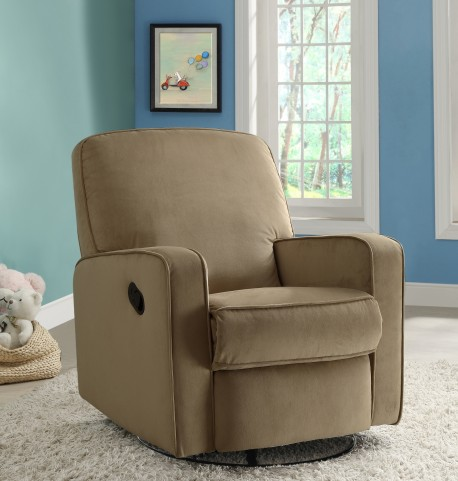 Sutton Stella Straw Swivel Glider Recliner