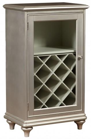 Platinum Glam Wine Cabinet