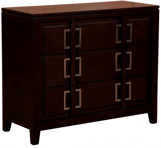 Warm Cherry Drawer Cabinet