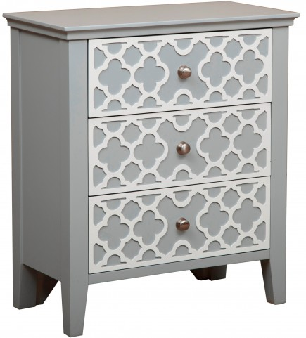 Gray Drawer Cabinet
