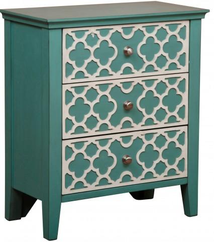 Seafoam Drawer Cabinet