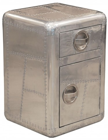 Aviation Silver Door Chest