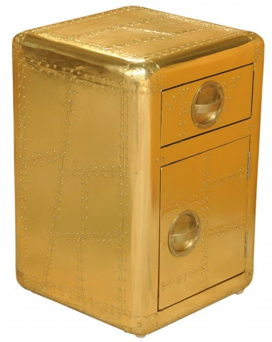 Aviation Gold Door Chest
