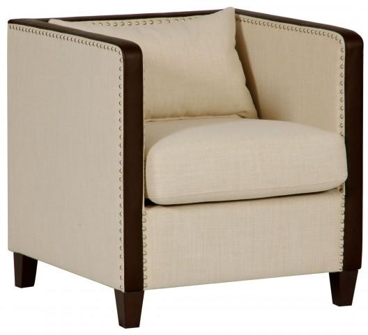 Beige Leisure Accent Chair