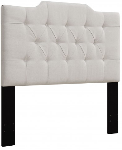 Linen King/Cal. King Upholstered Panel Headboard