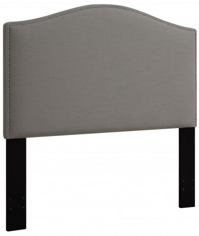 Ash King/Cal. King Nailhead Upholstered Headboard