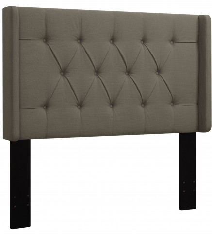Taupe King/Cal. King Upholstered Headboard