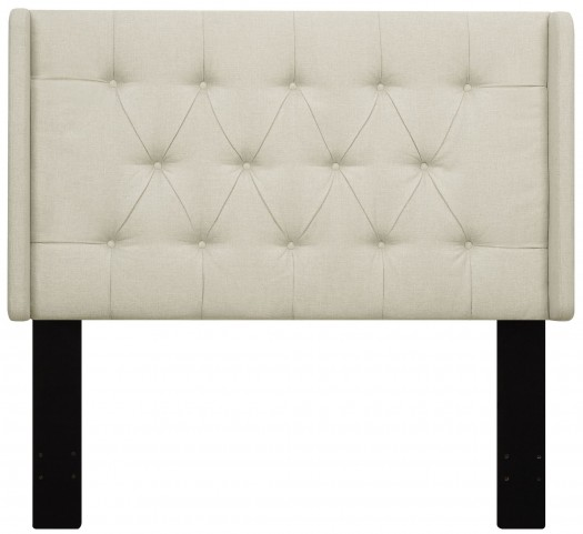 Beige Full/Queen Upholstered Headboard