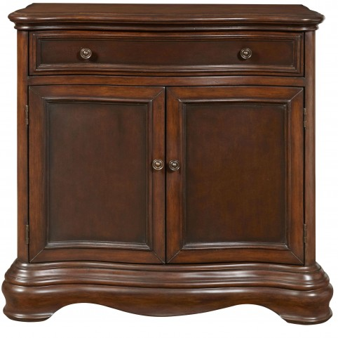 Brown 1 Drawer Accents Hall Chest