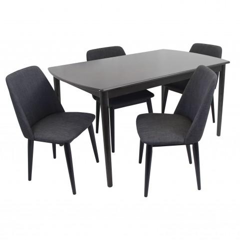Tintori Black Dining Room Set