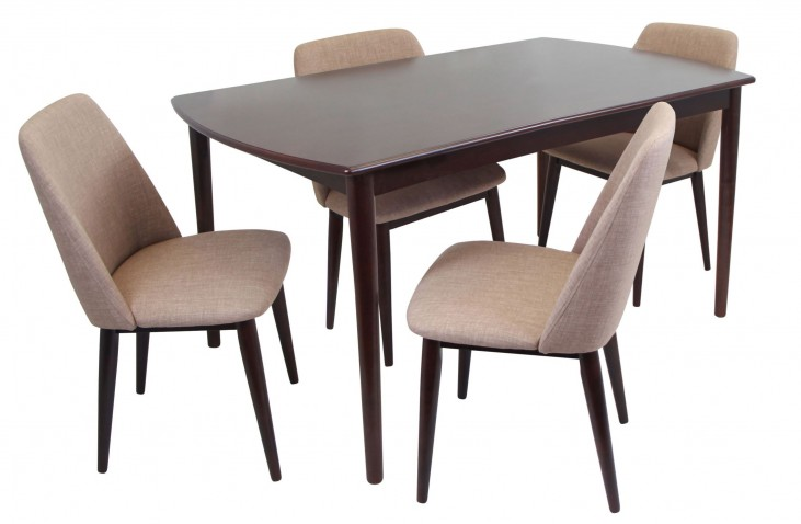 Tintori Espresso Dining Room Set