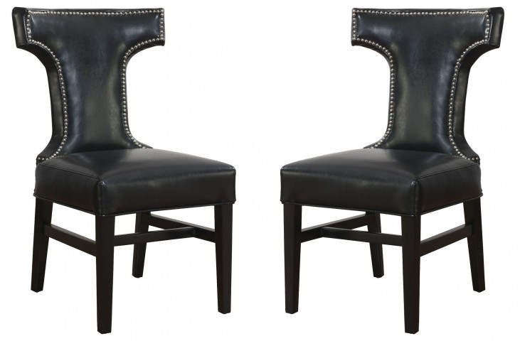 Tee Leather Dining Chair Set of 2