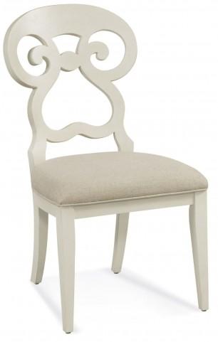 Avery White Parson Chair