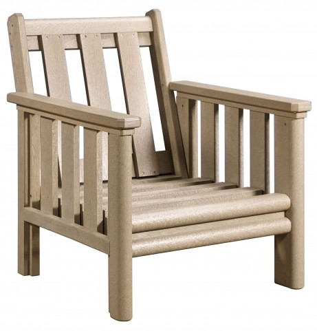 Stratford Beige Deep Seating Chair Frame