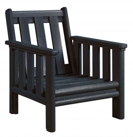 Stratford Black Deep Seating Chair Frame