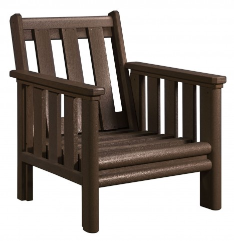 Stratford Chocolate Deep Seating Chair Frame