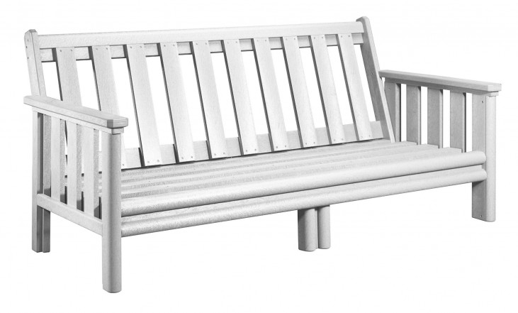 Stratford White Deep Seating Sofa Frame