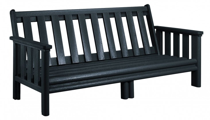 Stratford Black Deep Seating Sofa Frame