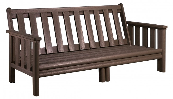 Stratford Chocolate Deep Seating Sofa Frame