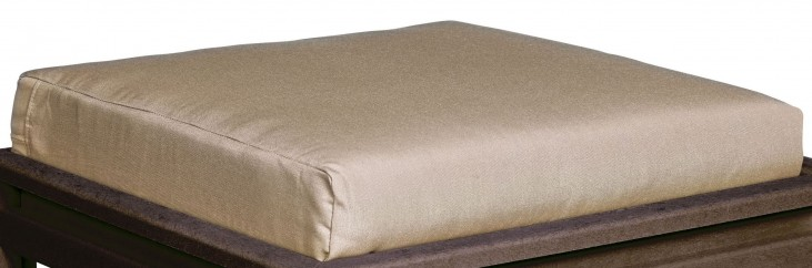 Stratford Beige Large Ottoman Cushion