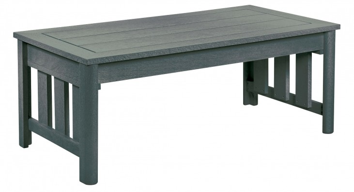 Stratford Slate Gray Coffee Table