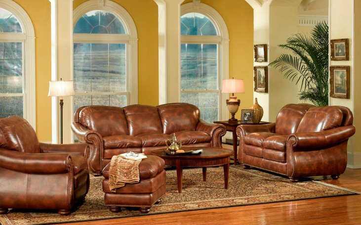Duplin Pecan Living Room Set