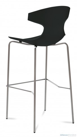 Echo Black Stool