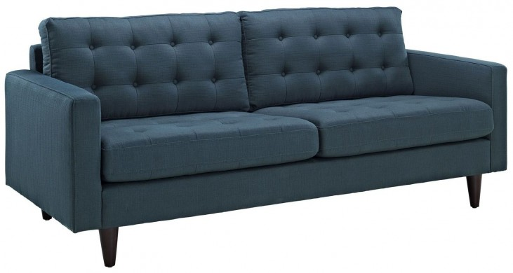 Empress Azure Upholstered Sofa