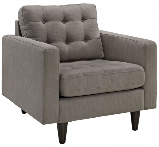Empress Granite Upholstered Armchair