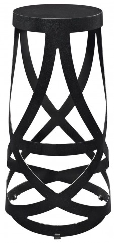 Ribbon Black Bar Stool