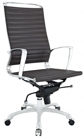 Tempo Brown Highback Office Chair