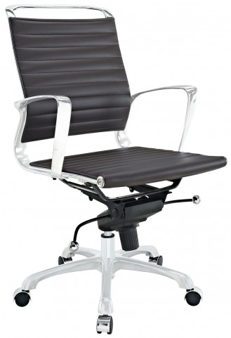 Tempo Brown Mid Back Office Chair