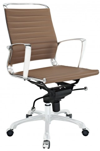 Tempo Tan Mid Back Office Chair