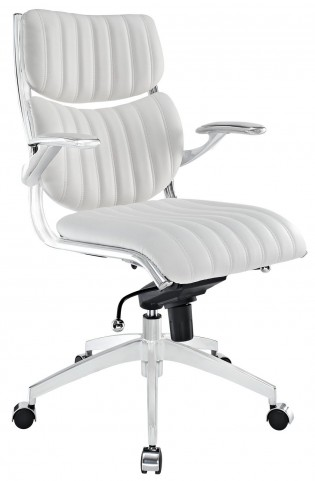Escape White Midback Office Chair