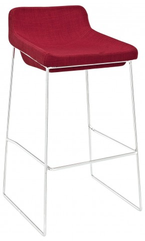 Garner Red Bar Stool