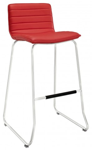 Dive Red Bar Stool