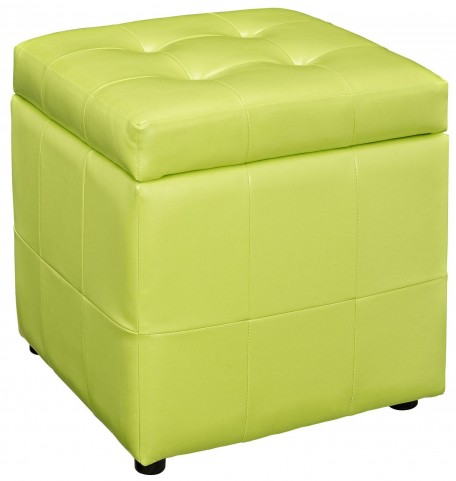 Volt Storage Light Green Ottoman