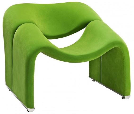 Cusp Green Lounge Chair