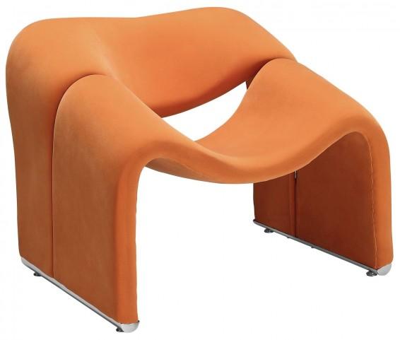 Cusp Orange Lounge Chair